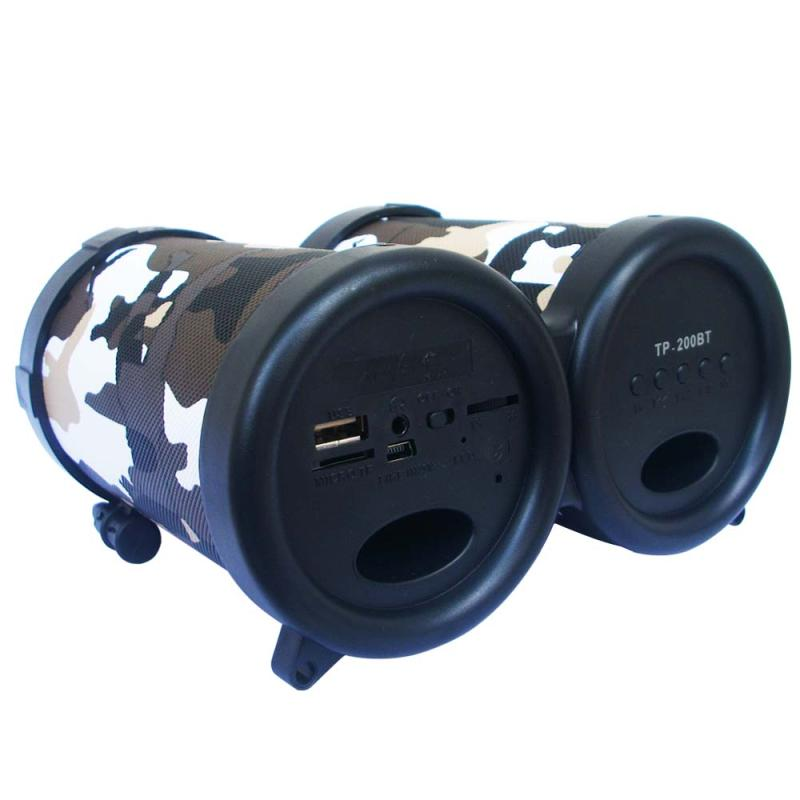 Advance Tentara TP-200BT Portable Bluetooth Speaker - Hitam