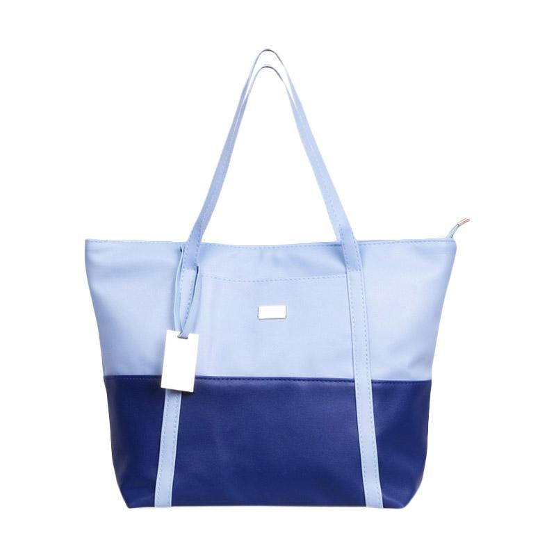 Chloe Babyshop Combination Colour Tote Bag - Blue