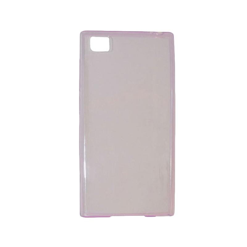 OEM Ultrathin Jelly Softcase Casing for Xiaomi M3 - Purple