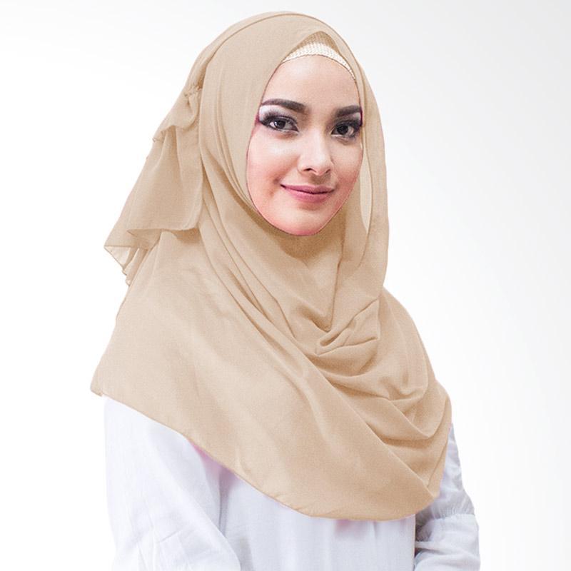 Milyarda Hijab Aime Kerudung Instan - Coklat Susu