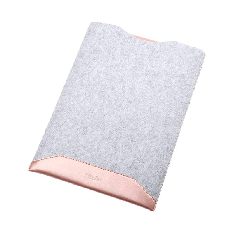 New Microfiber Sofcase Sleeve Case for Macbook Air 11.6 Inch - Pink