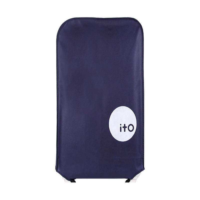 28fashion ITO Luggage Cover Pelindung Koper - Navy [20 Inch]