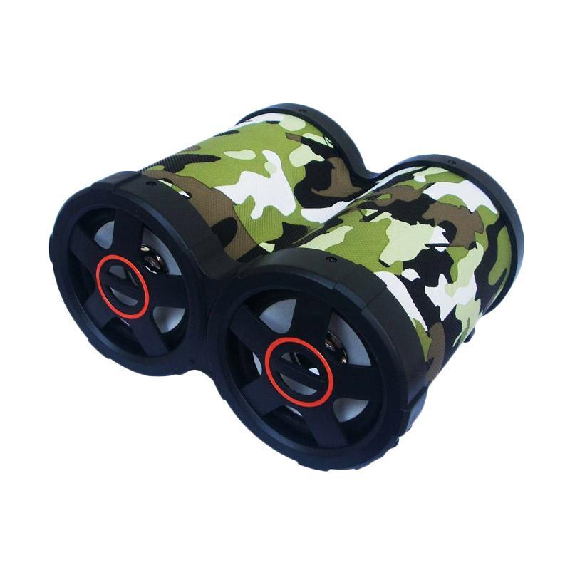 Advance Tentara Tp-200BT Portable Bluetooth Speaker - Hijau