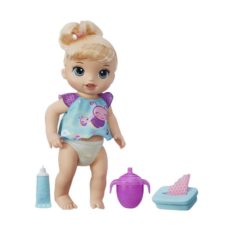 harga Baby Alive B6051 Twinkles n Tinkles Blonde Doll Mainan Anak Blibli.com
