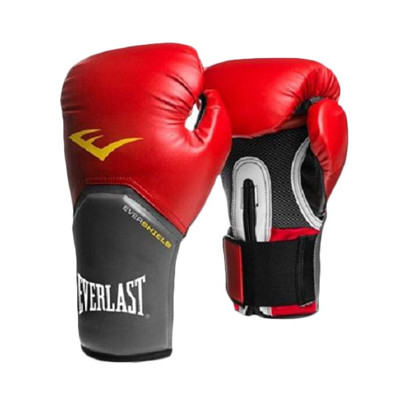 Everlast Pro Style Elite Training Gloves - Red [12 Oz]