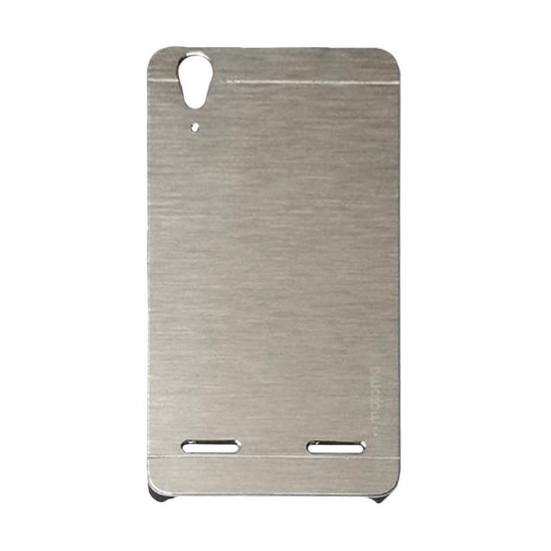 Motomo Metal Hardcase Casing for Lenovo A6000 or K3 - Silver