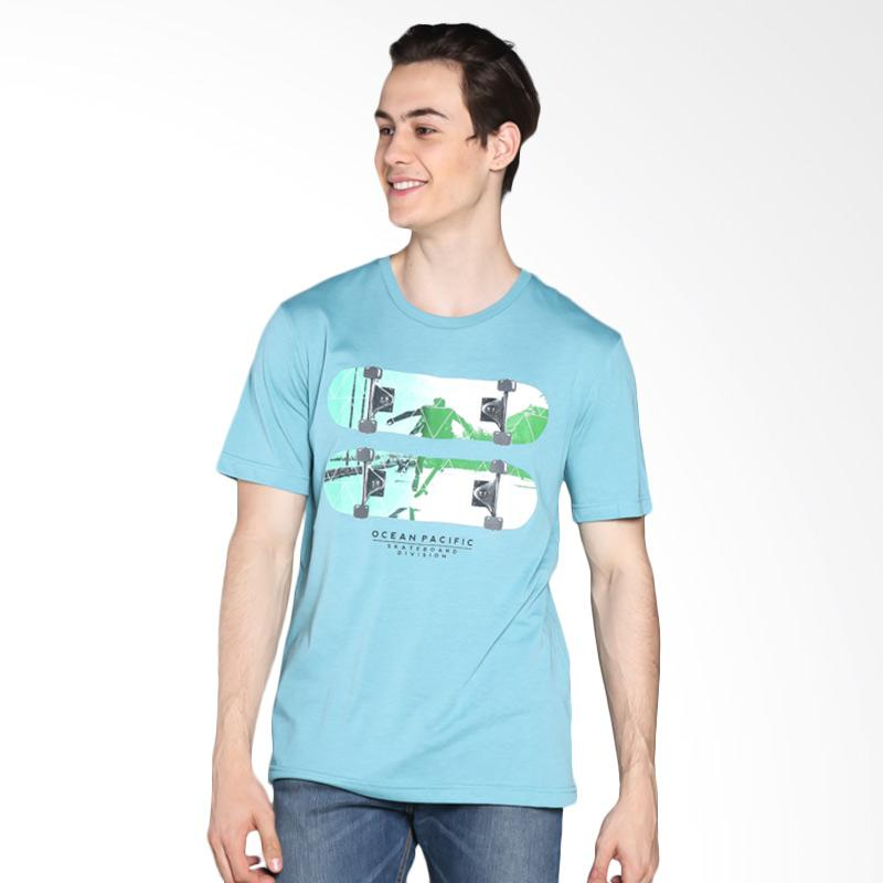 Ocean Pacific 03MTY05556 Young Mens Tshirt - Turquise