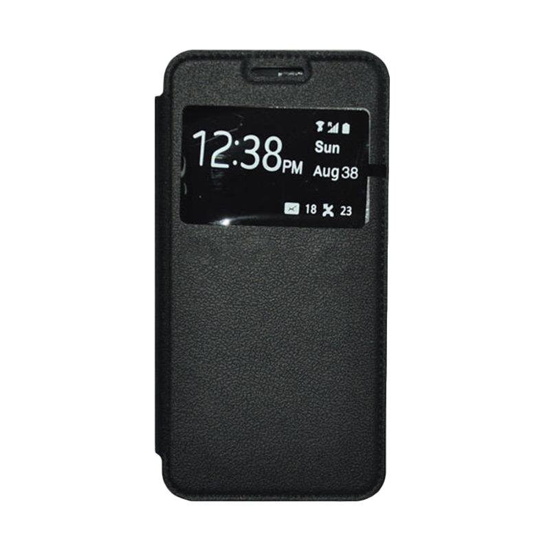 OEM Book Cover Leather Casing for Samsung Galaxy Grand 2 - Black