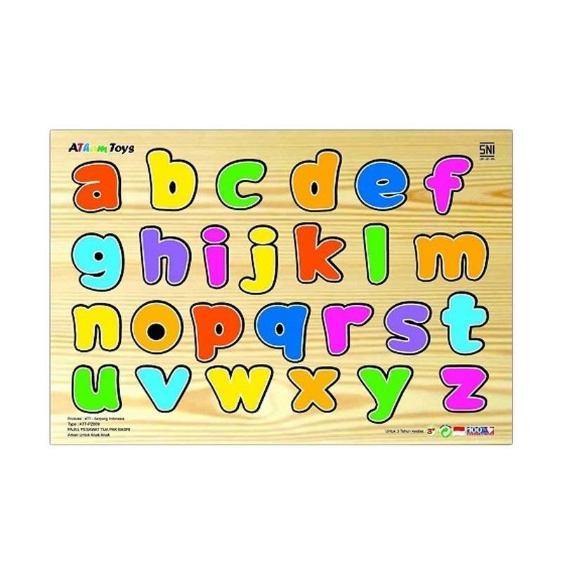 Atham Toys Huruf Kecil Puzzle Sticker