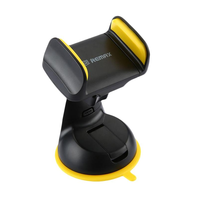 Remax RM-C06 Suction Cup Car Holder for Smartphone - Hitam