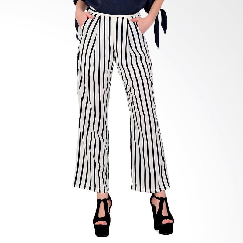 SJO & SIMPAPLY Stripe Natural Women's Pants