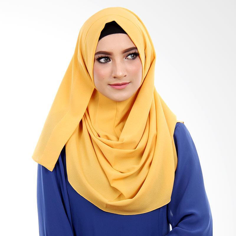Cantik Kerudung Selena Hijab Instant - Yellow
