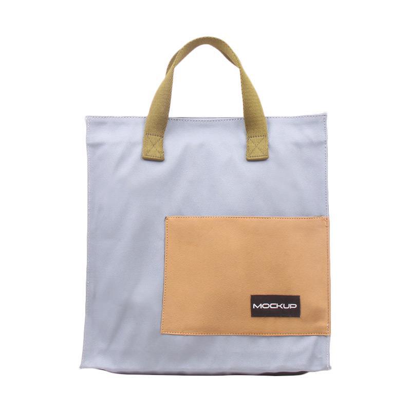 Mock Up Mini Tote Bag Mockup BGO/11 Tas Unisex - Light Blue