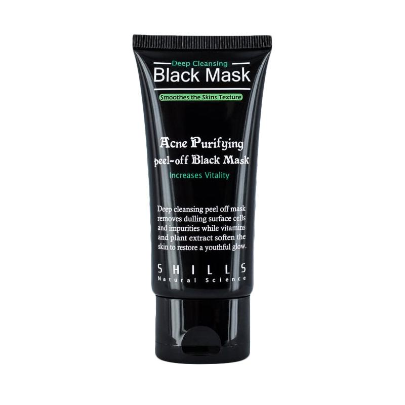 Shills Black Mask Purifying Peel Off Mask Black Mask