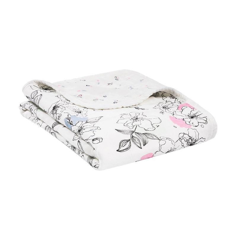 Aden Anais - Silky Soft Stroller Blanket - Meadowlark - Selimut Bayi dan Anak