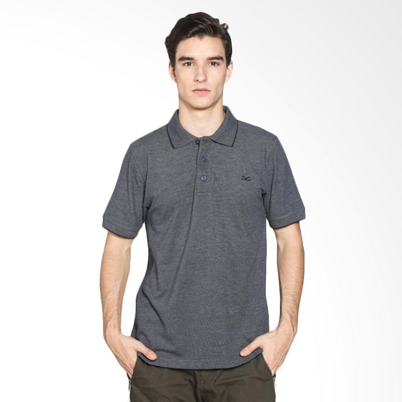 Carvil Men 12.MST.GRY.66/ MISTY-GRY Polo Shirt Pria - Grey Extra diskon 7% setiap hari Citibank – lebih hemat 10% Extra diskon 5% setiap hari