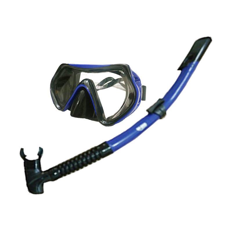 harga Godive Mask & Snorkle Sets M101 - Blue Blibli.com