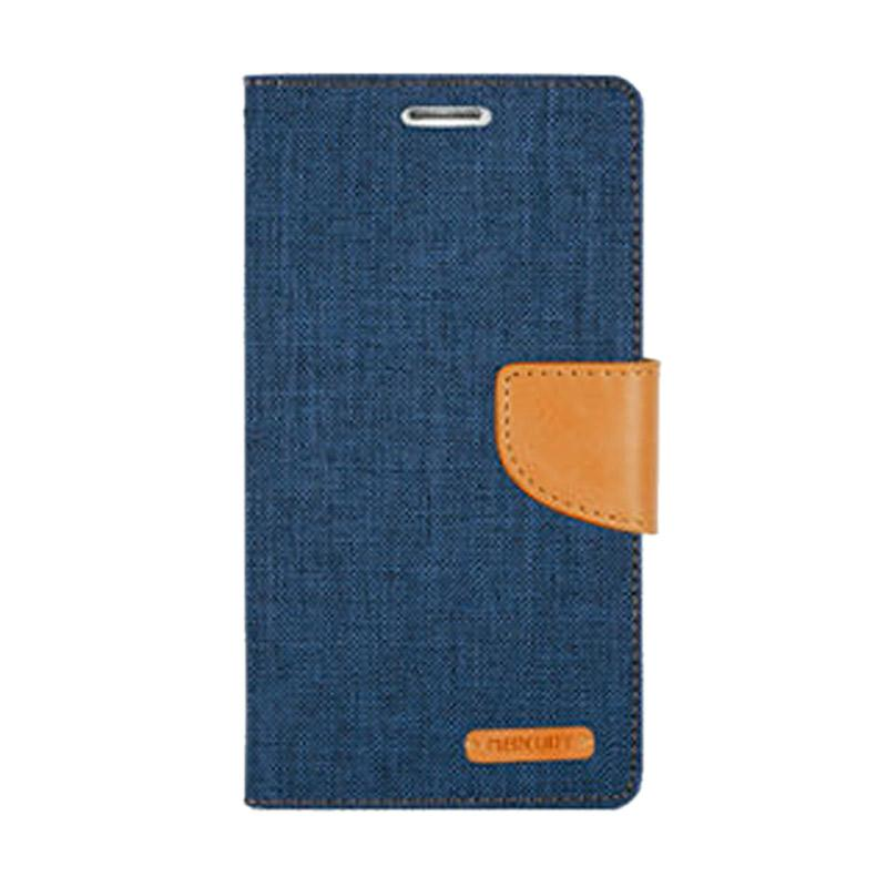 Mercury Canvas Diary Casing for iPhone 7 Plus 5.5 - Navy