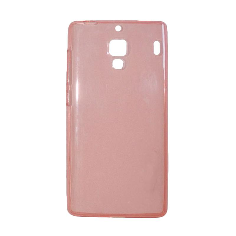 OEM Ultrathin Jelly Softcase Casing for Xiaomi Redmi - Peach