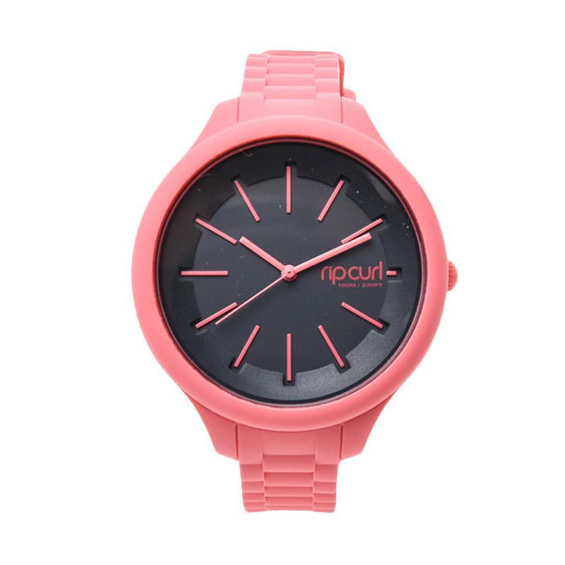 rip curl horizon silicone a2803g 165 jam tangan wanita peach