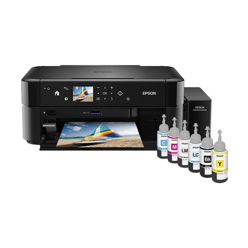 Epson L850 Printer Multifungsi Hitam Print Scan Copy Terbaru Agustus 2021 Harga Murah Kualitas Terjamin Blibli