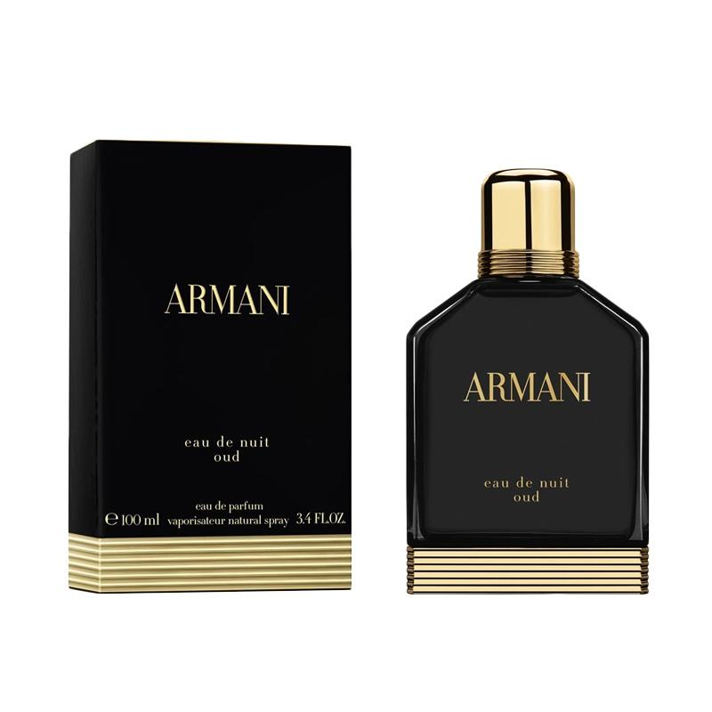 Giorgio Armani Eau de Nuit Oud EDP Parfum Pria [100 mL]
