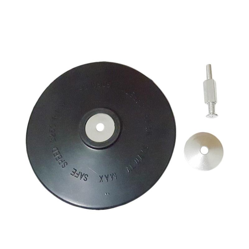 Sellery 07-605 Backing Pad with Arbor, Shanks [6 mm & 130 mm]