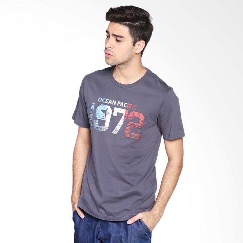 Ocean Pacific Fashion 03MTF91235 Mens T-Shirt - Misty Grey Extra diskon 7% setiap hari Extra diskon 5% setiap hari Citibank – lebih hemat 10%