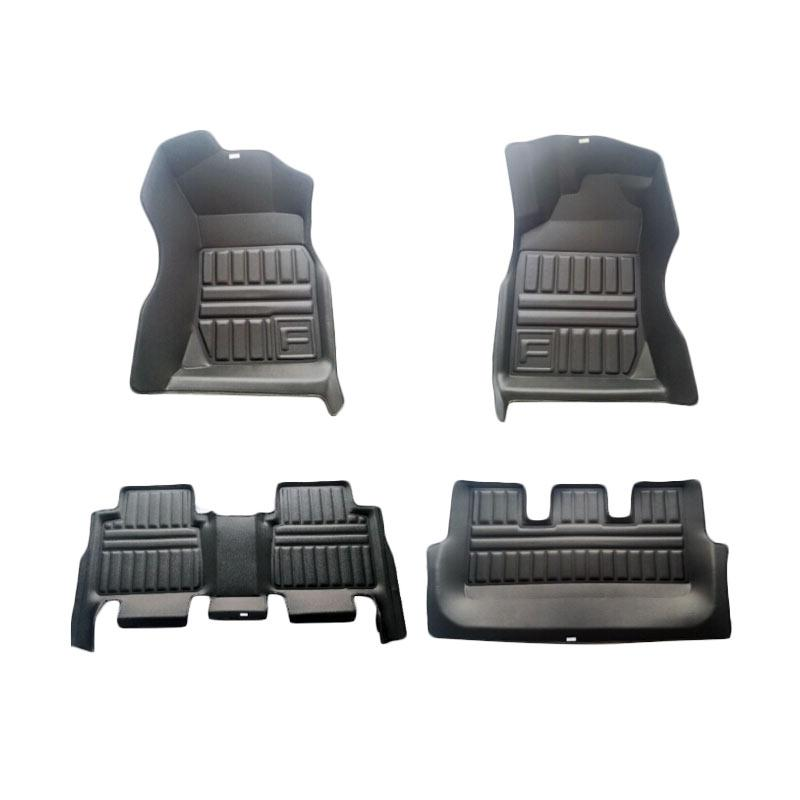 Frontier Set Karpet Mobil for Toyota Innova - Black