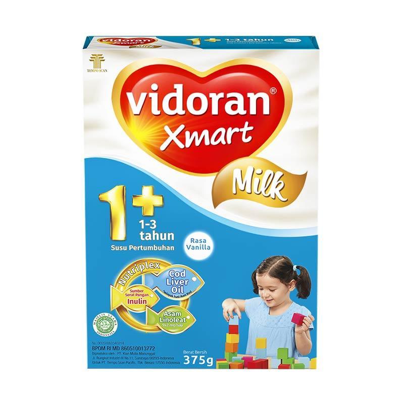 Vidoran Susu Formula Xmart 1+ Nutriplex Vanilla [375 g]