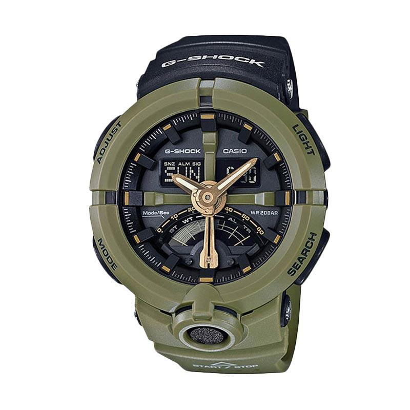CASIO G-SHOCK GA-500P-3A Urban Sports Jam Tangan Pria - Army Green