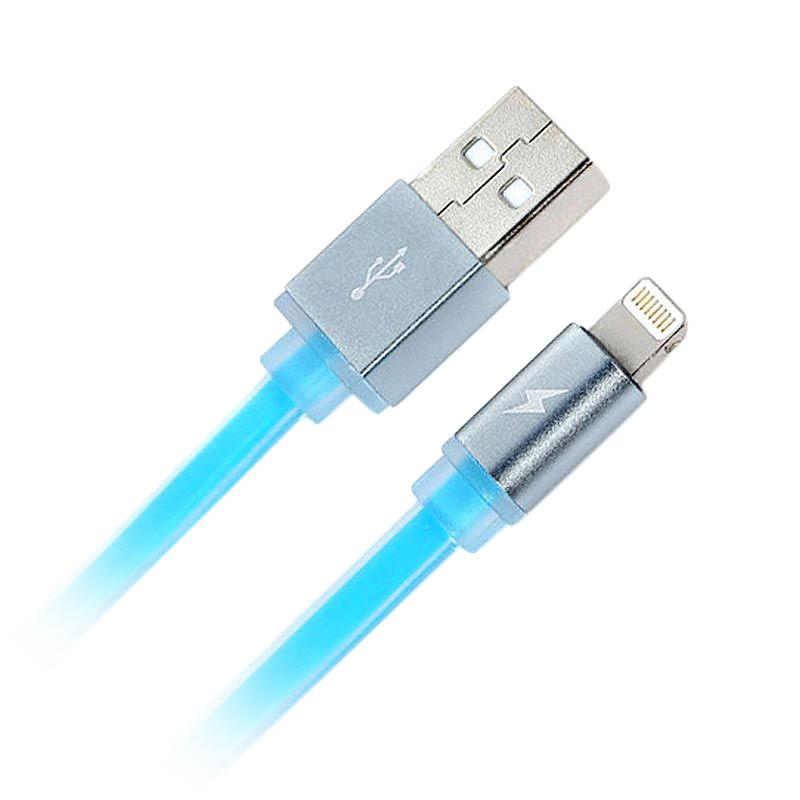Remax Puding Lightning Quick Cable Kabel data for Apple - Blue
