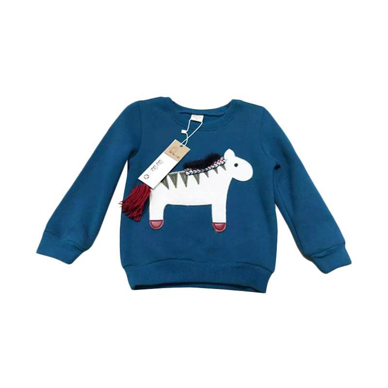 Chloe Babyshop Horse F952 Sweater Anak Laki Laki - Blue