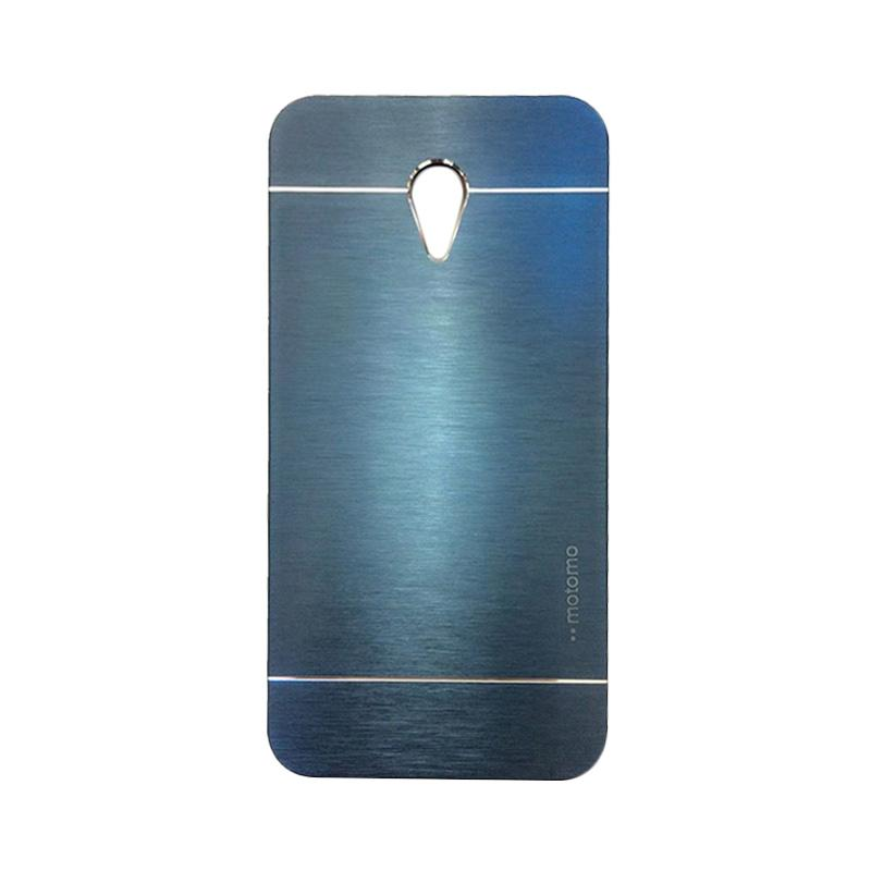 Motomo Metal Hardcase Casing for Meizu M2 Note - Dark Blue