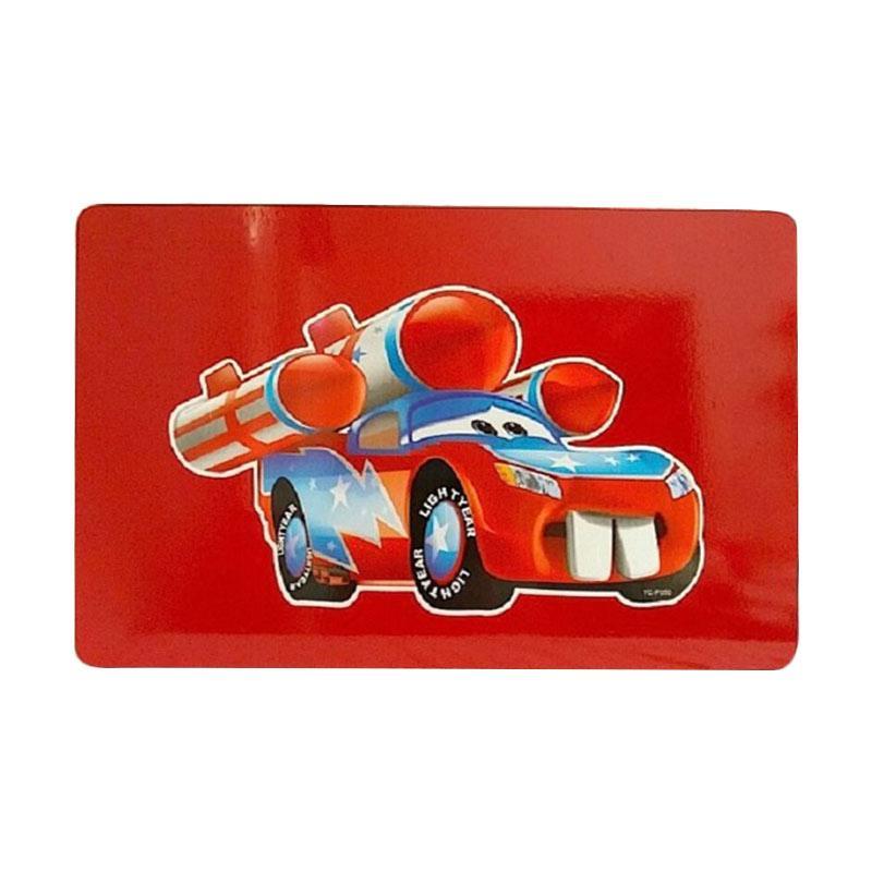 Bobby Car Light Year Duko Furnish SC-15331 Meja Lipat - Red Maroon