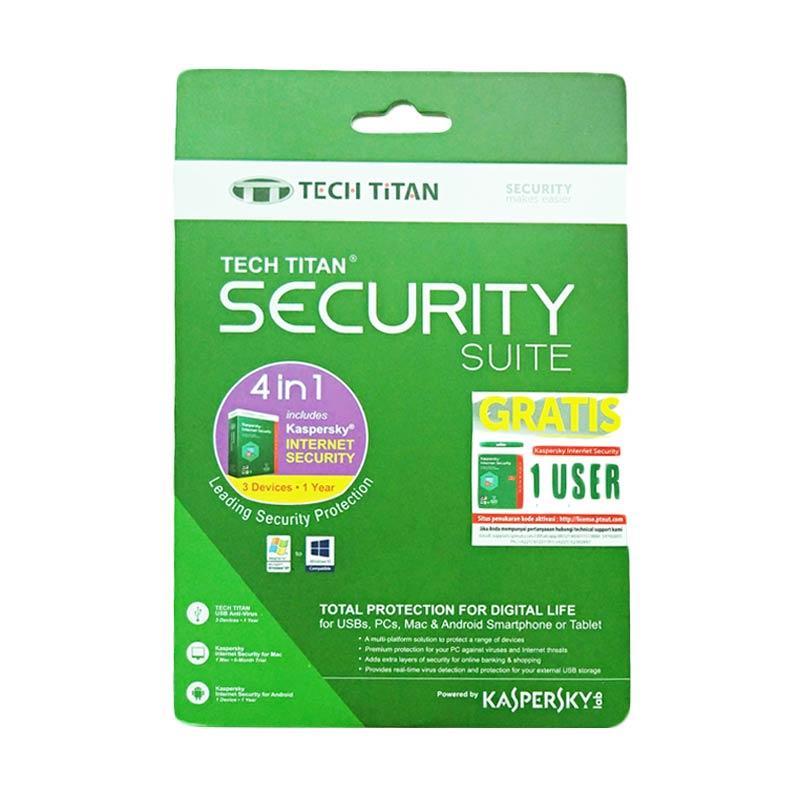 harga Kaspersky Internet Security 2017 Software [3 User] Blibli.com