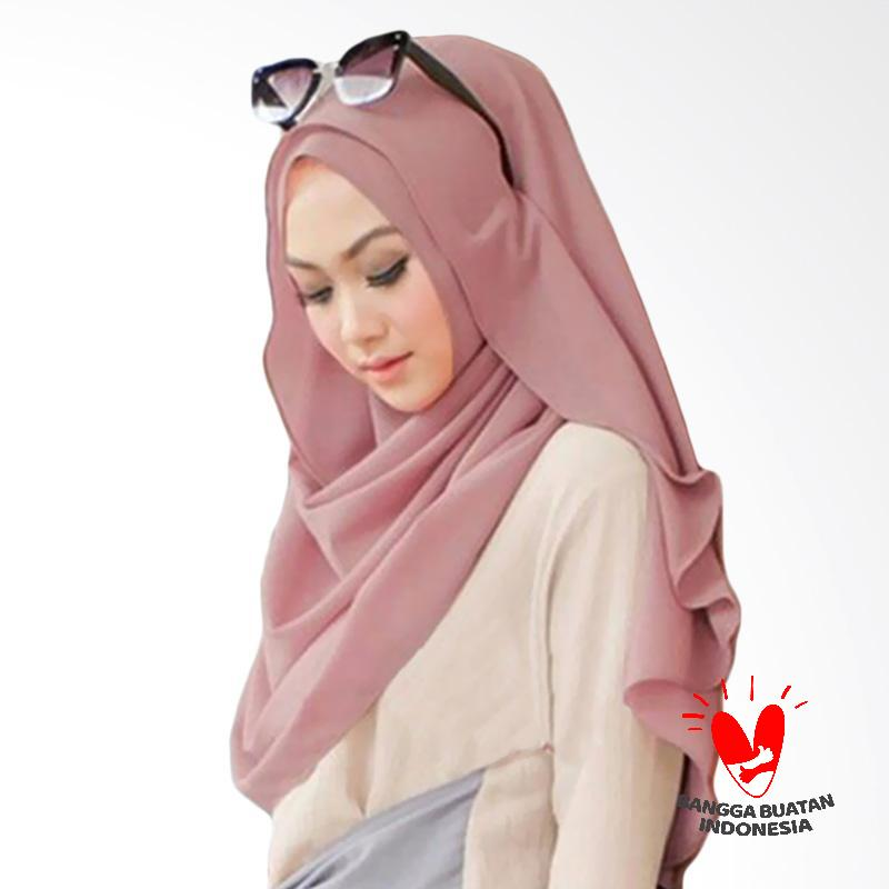 FDR - Milyarda Hijab Belle Pashmina Instant - Dusty Pink
