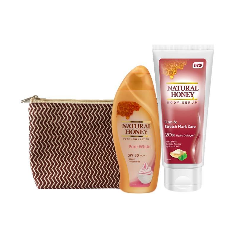 Natural Honey Body Serum & Pure White Lotion