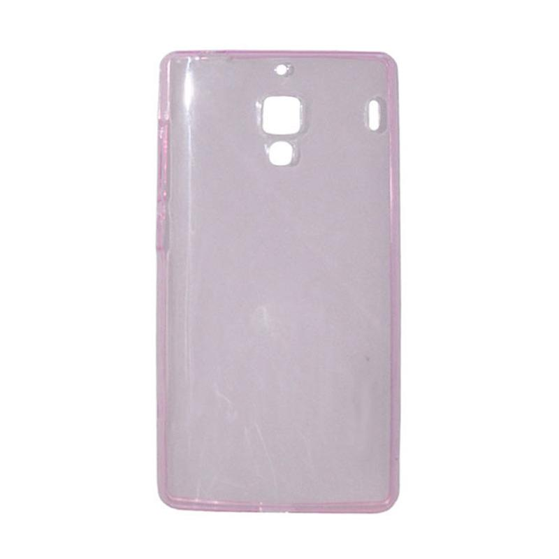 OEM Ultrathin Jelly Softcase Casing for Xiaomi Redmi - Pink