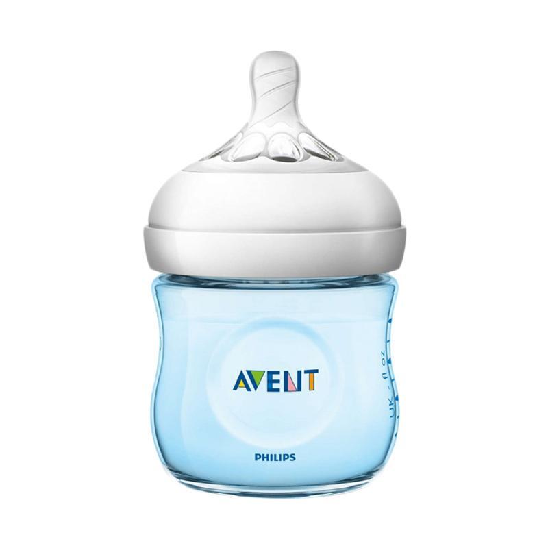 Philips Avent SCF692-13 Natural 2.0 Baby Bottle - Blue [125 mL]