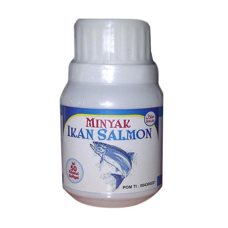Salmon Fish Oil Minyak Ikan Salmon Suplemen [50 Kapsul]