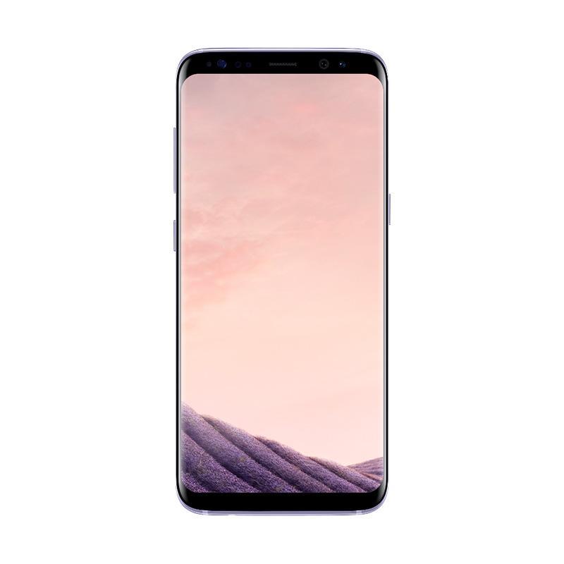 Samsung Galaxy S8 Plus Smartphone - Orchid Gray [64GB/ 4GB/ GARANSI RESMI SEIN]