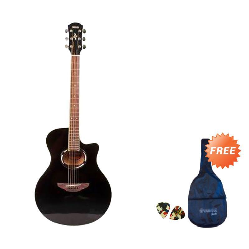 harga Rekomendasi Seller - Yamaha APX 500II Gitar Akustik Elektrik - Hitam + Free Softcase dan 2 Pick Blibli.com