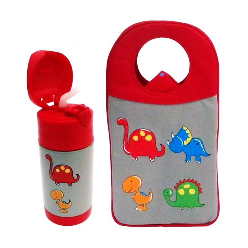Arvita Dino Lunch Bag + Free Arvita Water Dino Thermos Bottle