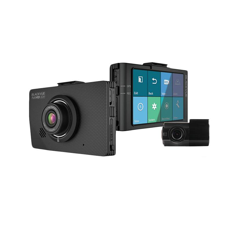 Blackvue DR490L-2CH Kamera Mobil [16 GB/DVR Mobil/Car Blackbox/2 Kamera/Full HD/LCD]