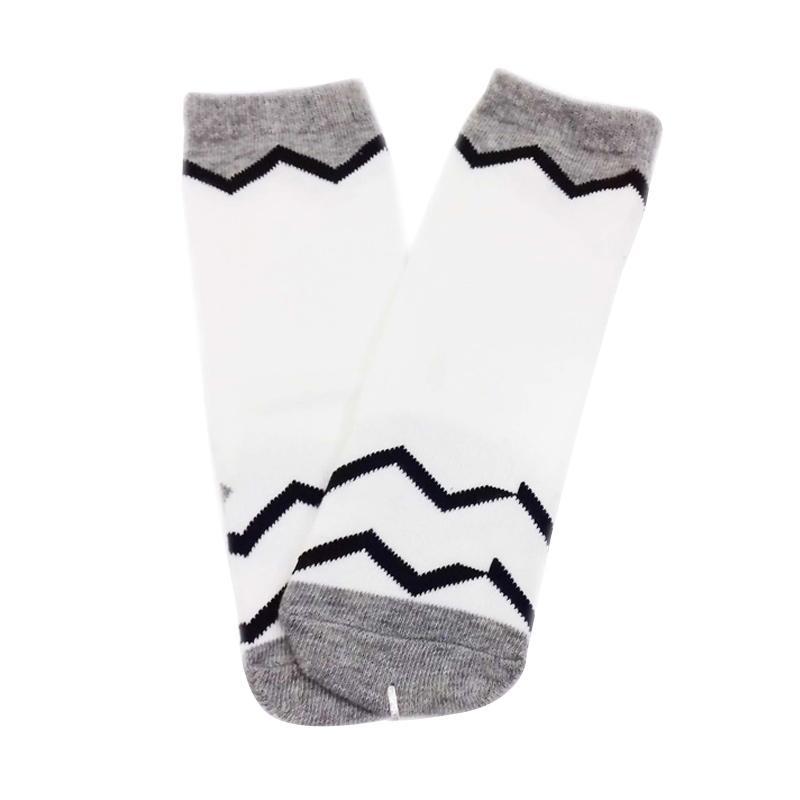 Chloe Babyshop S175 Foot Cover Salur Kaos Kaki Anak - White