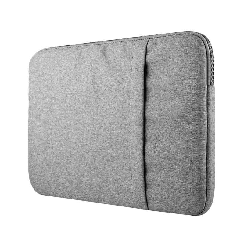 Cooltech Tas Laptop Nylon Softcase Sleeve for Macbook 15 Inch - Grey