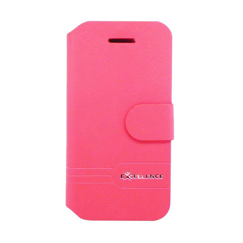 Excellence Dragonite Flip Cover Casing for iPhone 4 - Red