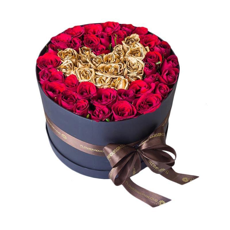 Flower Advisor Heart of Gold Flower Bouquet