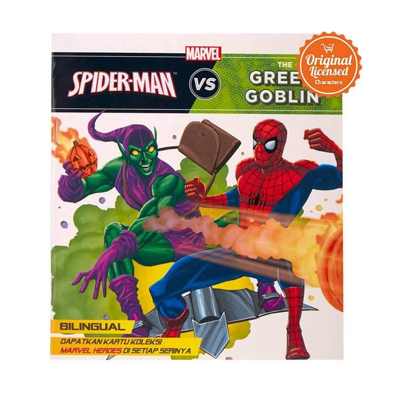 harga Marvel Story Book Spider-Man VS Green Globin Buku Anak Blibli.com